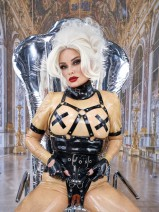 LATEXHERRIN - MADAME GILLETTE IM BLACK FUN