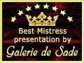 Galerie de Sade Banner